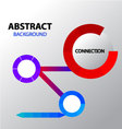 Abstract loading connection background vector image