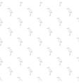 Stork pattern cartoon style vector image