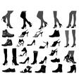 Footwear vector image