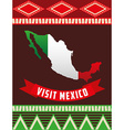 viva mexico design vector image