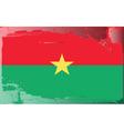 burkina faso national flag vector image vector image