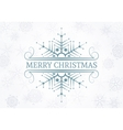 Decorative Christmas design element vector image