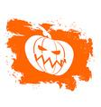 Flag Halloween grunge style on white background vector image
