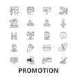 promotion sale advertising job products vector image