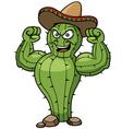 Cartoon Cactus vector image