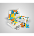 Sale Tag Paper Bags and Box with 3d letters SALE vector image