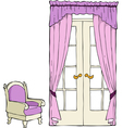 classic furniture vector image vector image