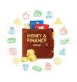 money finance concept vector image