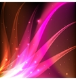 Shiny pink abstract background vector image