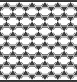 seamless stylish texture with hexagon and vector image