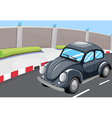 A vehicle at the road vector image vector image