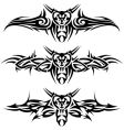 abstract tattoos vector image vector image