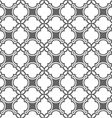 Monochrome seamless pattern in oriental style vector image