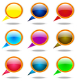 You tell Balloon Arrows Elements Information Point vector image