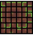 Pixel Art Tiles vector image vector image