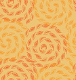 autumn leves seamless pattern vector image