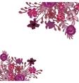 Floral card Bouquet vector image