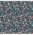 Seamless Festive Love Abstract Pattern with Hand vector image vector image