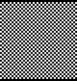 regular pattern of squares in alternating black vector image