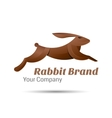 Rabbit logo Creative colorful abstract vector image