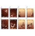 coffee banners design vector image
