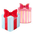 colorful christmas presents vector image