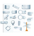 set of design arrows and elements vector image vector image