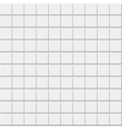 White ceramic tile background vector image