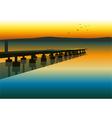 Pier vector image