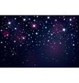 sky night vector image