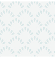 simple seamless pattern of tracery shell vector image