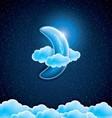 Moon vector image vector image