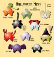 Halloween minis vector image