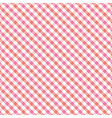 Red and pink plaid pattern1 vector image