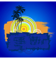 beach 02 02 vector image