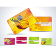 Business-Card or VIP-Card Set vector image