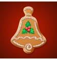 Ornate realistic traditional Christmas vector image