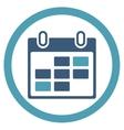 Binder Days Icon vector image