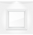 White Frame vector image vector image