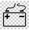 accumulator icon vector image