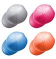 cap hat vector image