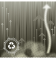 Pollution Background vector image