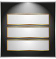 ight banners vector image vector image