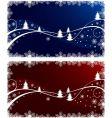Christmas illustration set vector image