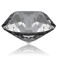 diamond with reflection vector image