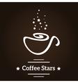 Coffee stars vector image