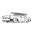 Vintage Surf Car vector image