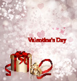 Postcard Valentines Day vector image