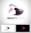 Hair Salon Logo vector image