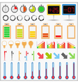 Indicators Collection vector image